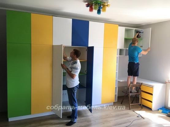 сборка шкафа в Киеве