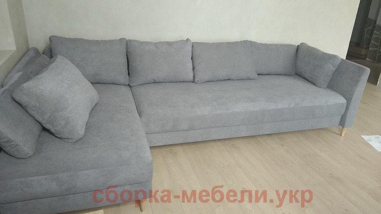 сборка дивана Икеа