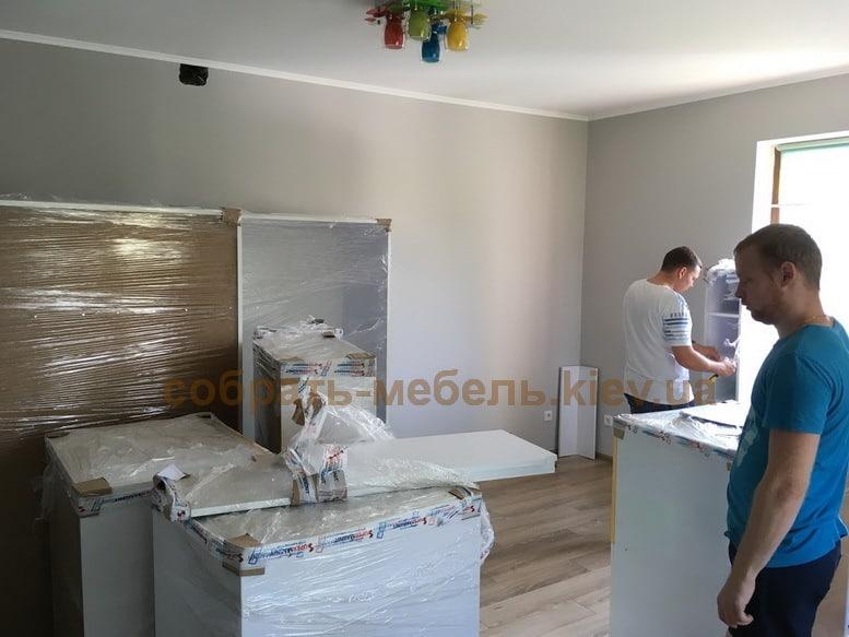 услуги сборки мебели Икеа