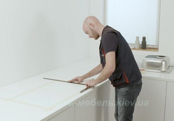 Врезать кухонную мойку интрукция