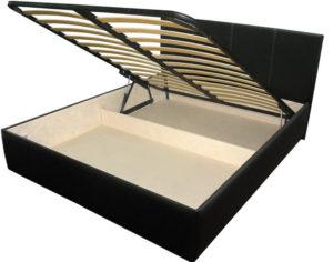 Двухместная кровать с подъемным механизмом