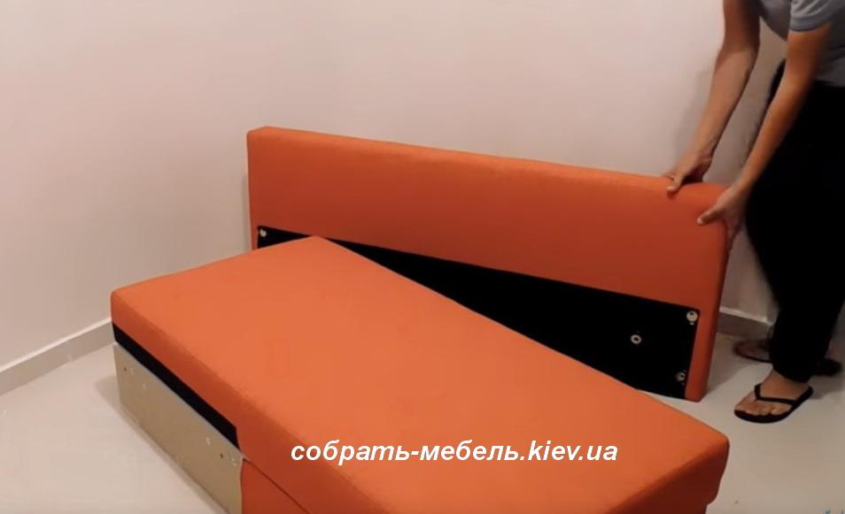 услуги сборки дивана Киев