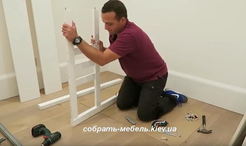 как правильно собрать кровать