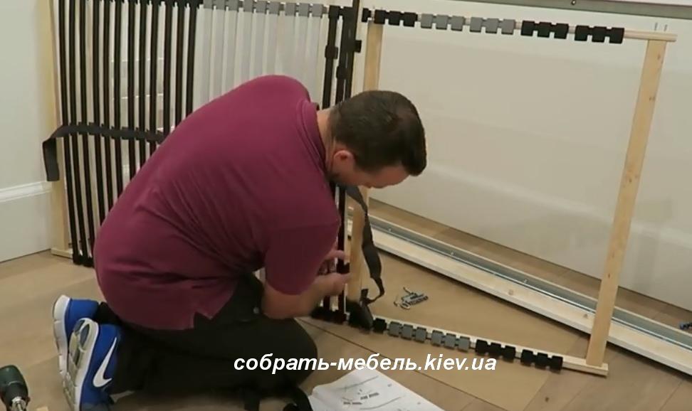 инструкция как собрать кровать