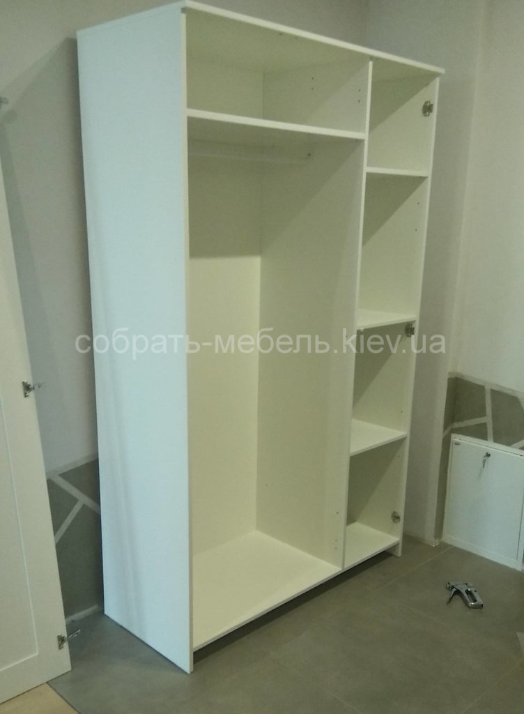 сборка шкафа Икеа Вишневое
