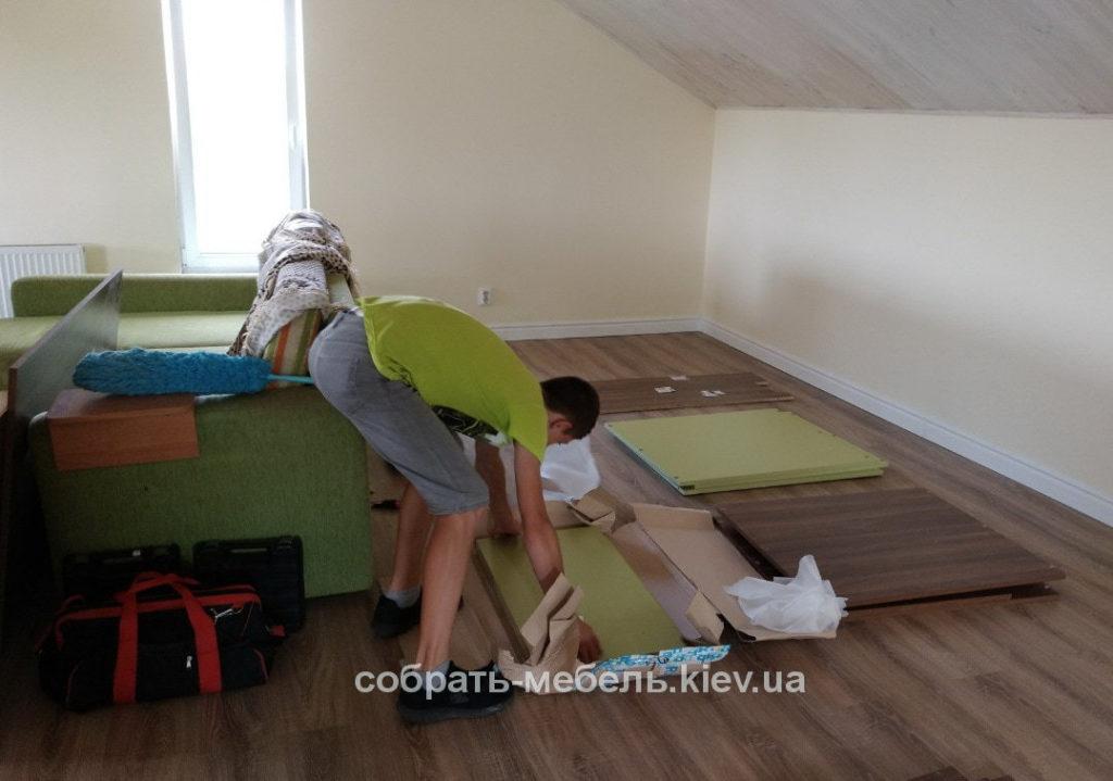 стоимость сборки нестандартной мебели