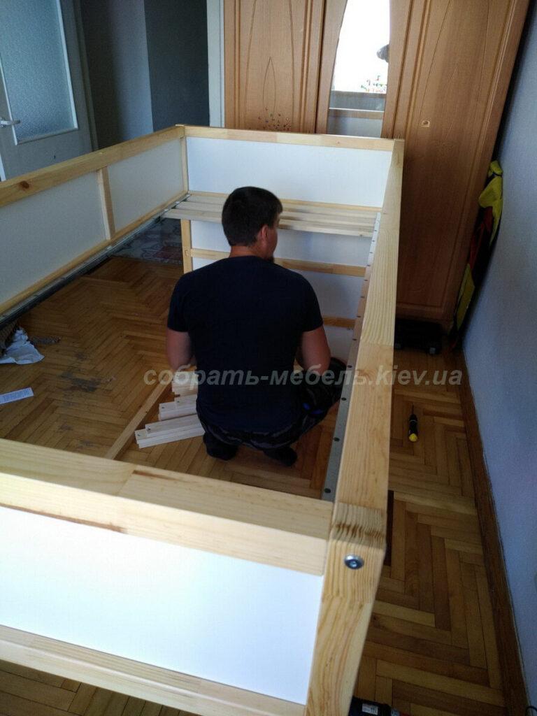 Собрать мебель IKEA