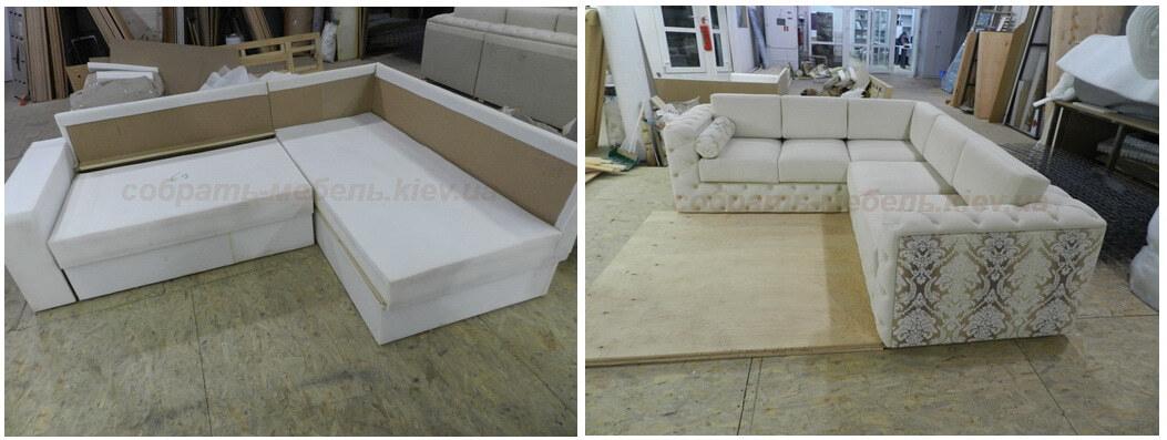 услуги перетяжки мебели Киев