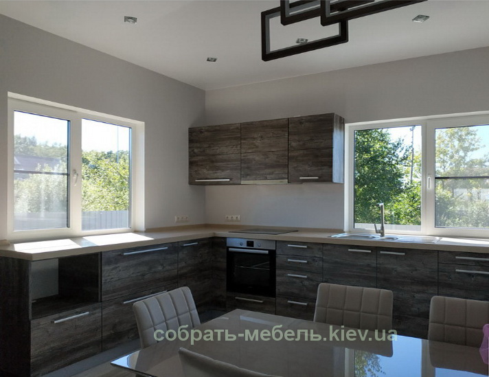сколько стоит собрать кухонную мебель