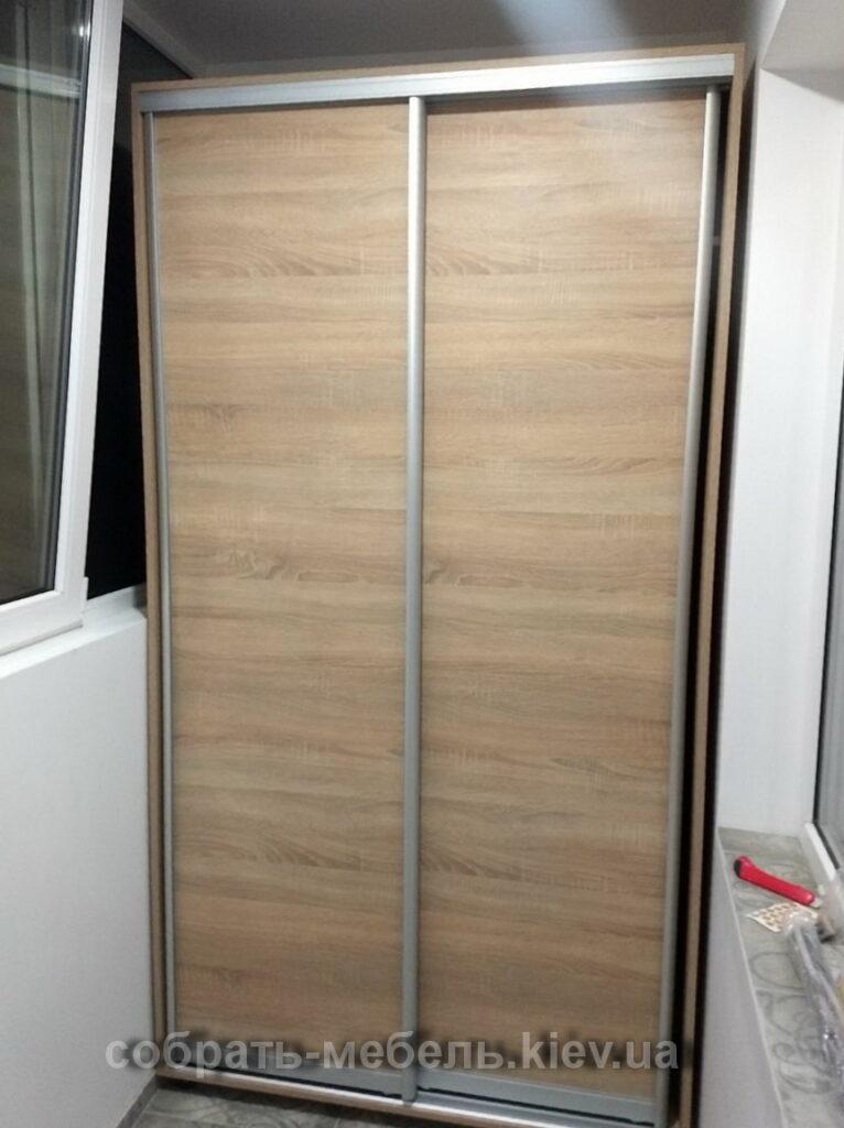 сборка шкафа на балкон