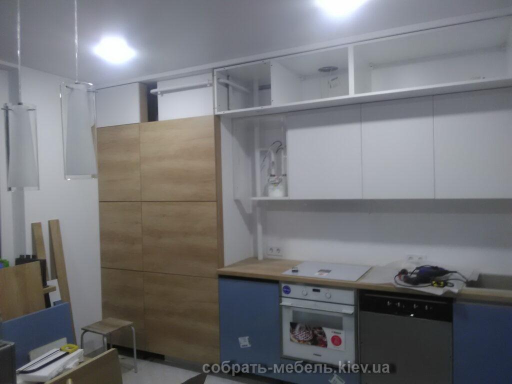 Услуги сборки заказной угловой кухни в Киеве