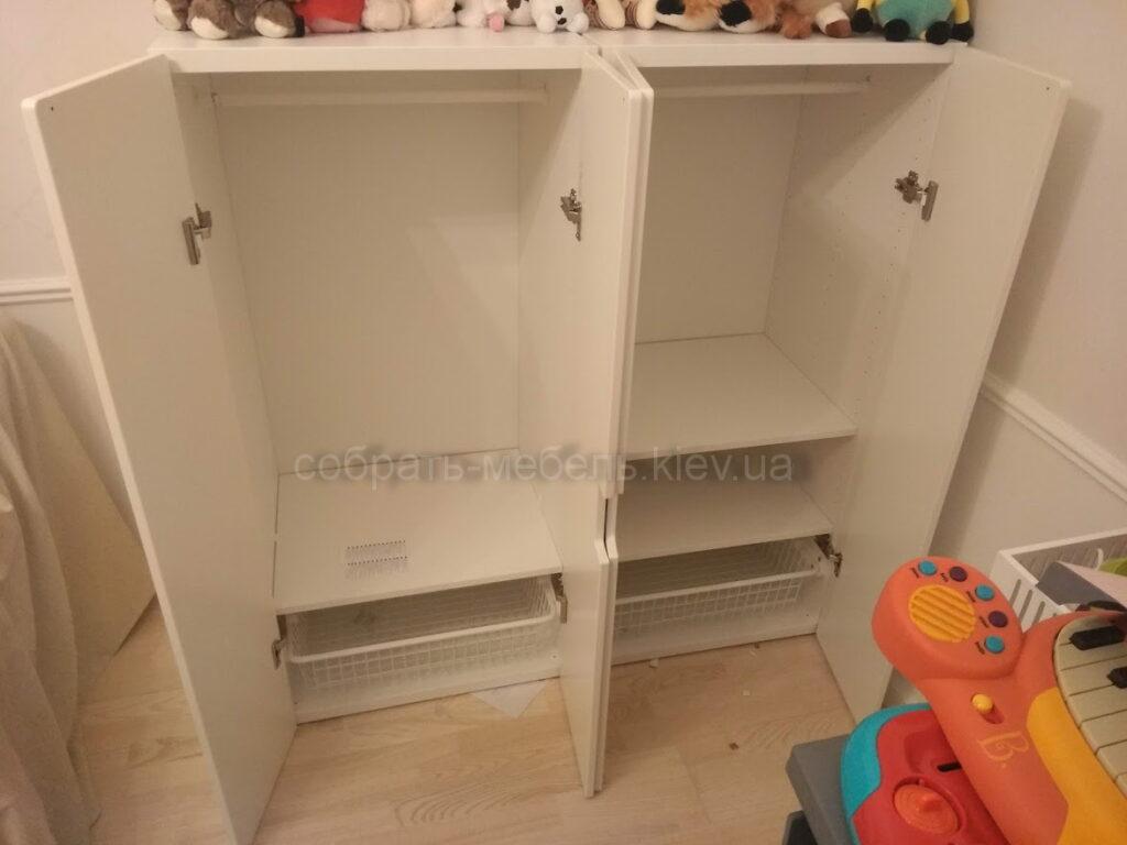 Собрать детский шкаф